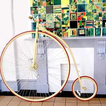 Penny farthing bicycle by Lovemydesigns