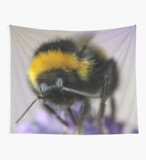 Bumble bee Wall Tapestry