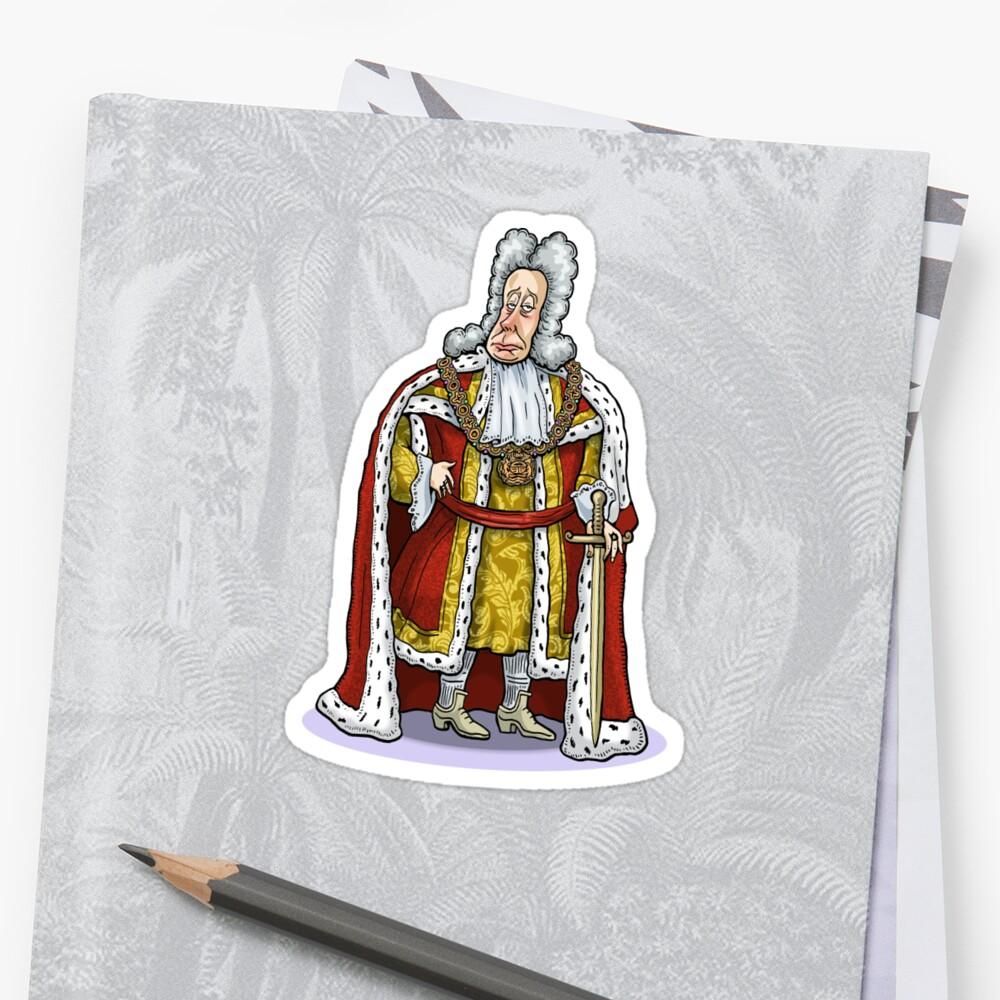 King George I by MacKaycartoons