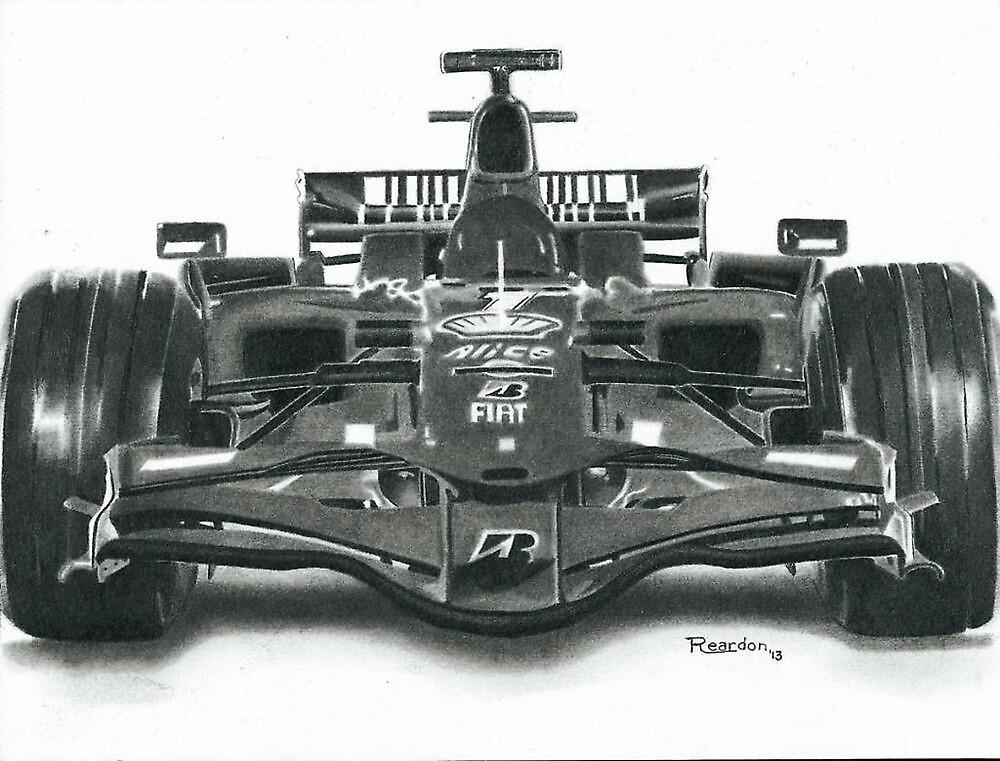 Ferrari F-1 by John Reardon