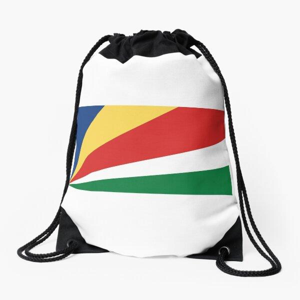 Drawstring Backpack Flag Of Seychelles Bags