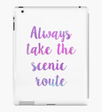 Scenic Route iPad Case/Skin