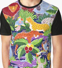 Wild Kingdom Print Graphic T-Shirt