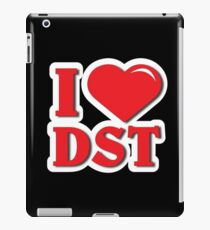 I Love DST Delta  iPad Case/Skin