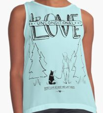 Dog Lovers With Style Contrast Tank