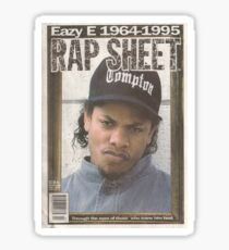 EAZY-E Sticker