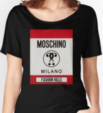 44912498916f Moschino milano Women's Relaxed Fit T-Shirt