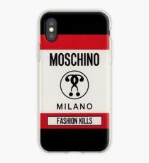 Moschino milano iPhone Case