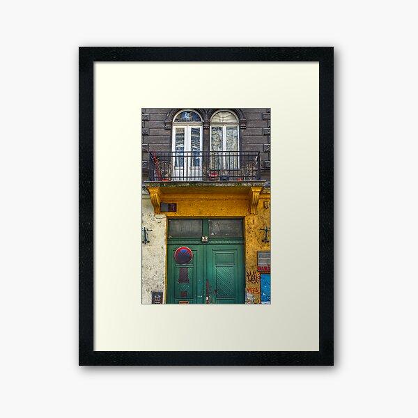 Don't Stop Here Framed Art Print