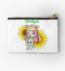 Bridget from 'My Cage', stupid hippy quote Studio Pouch