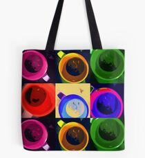 Six cups of moods Tote Bag