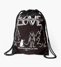 Gifts for Dog Lovers With Style Drawstring Bag
