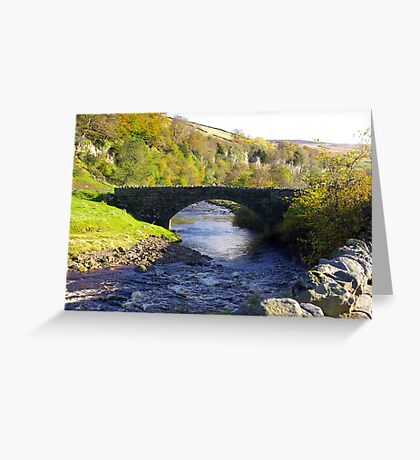 Stone Bridge at Keld,Yorkshire Dales. Greeting Card