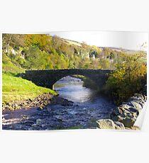 Stone Bridge at Keld,Yorkshire Dales. Poster