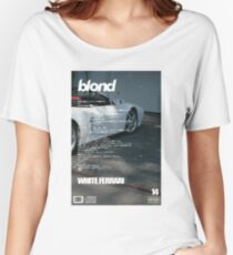 Frank Ocean - White Ferrari Women's Relaxed Fit T-Shirt