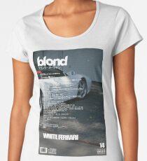 Frank Ocean - White Ferrari Women's Premium T-Shirt