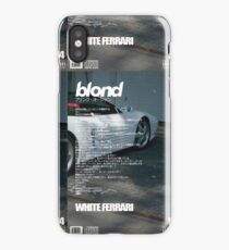 Frank Ocean - White Ferrari iPhone Case/Skin