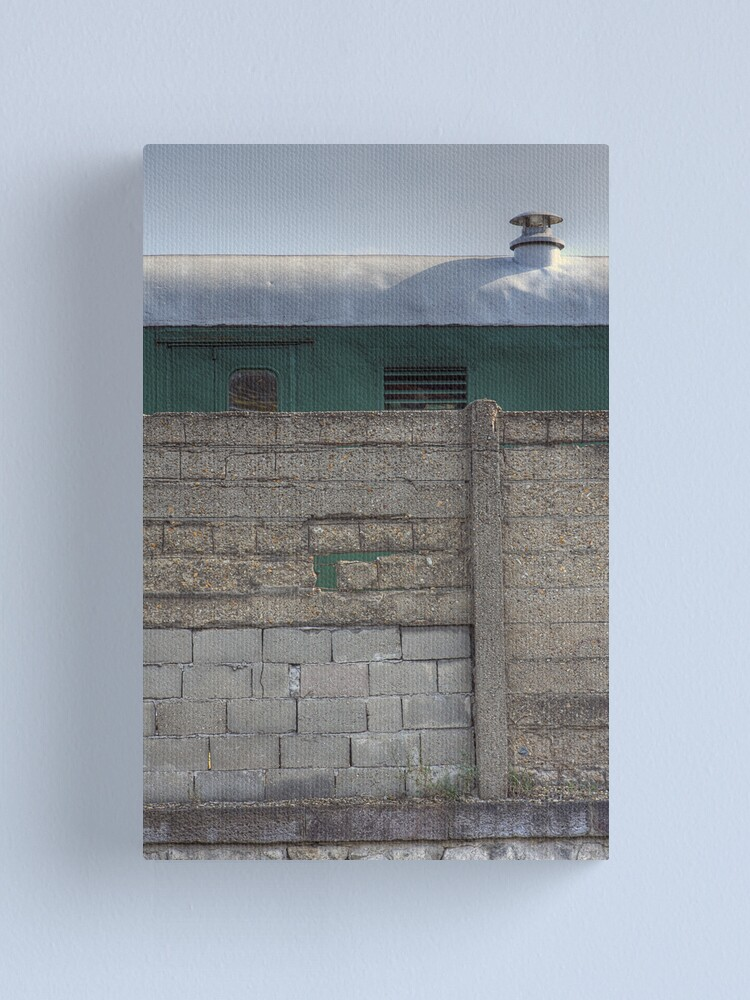 Alternate view of Another Hole in the Wall (and a Green Train) Canvas Print