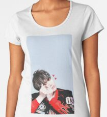 Suga BTS Premium Rundhals-Shirt