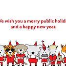 Merry Public Holiday by samedog