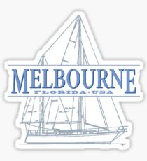 Melbourne Florida Sticker