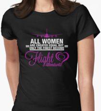 Flight Attendant? Women's Fitted T-Shirt