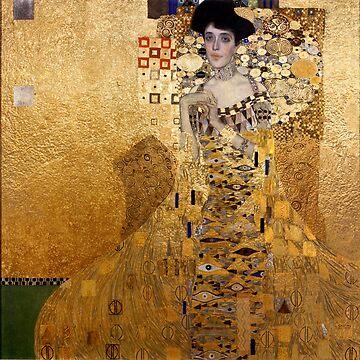 Gustav Klimt, 1907 Porträt von Adel Bloch Bauer von PixDezines