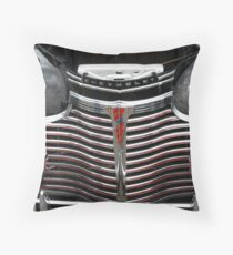 1941 CHEVROLET GRILL Throw Pillow