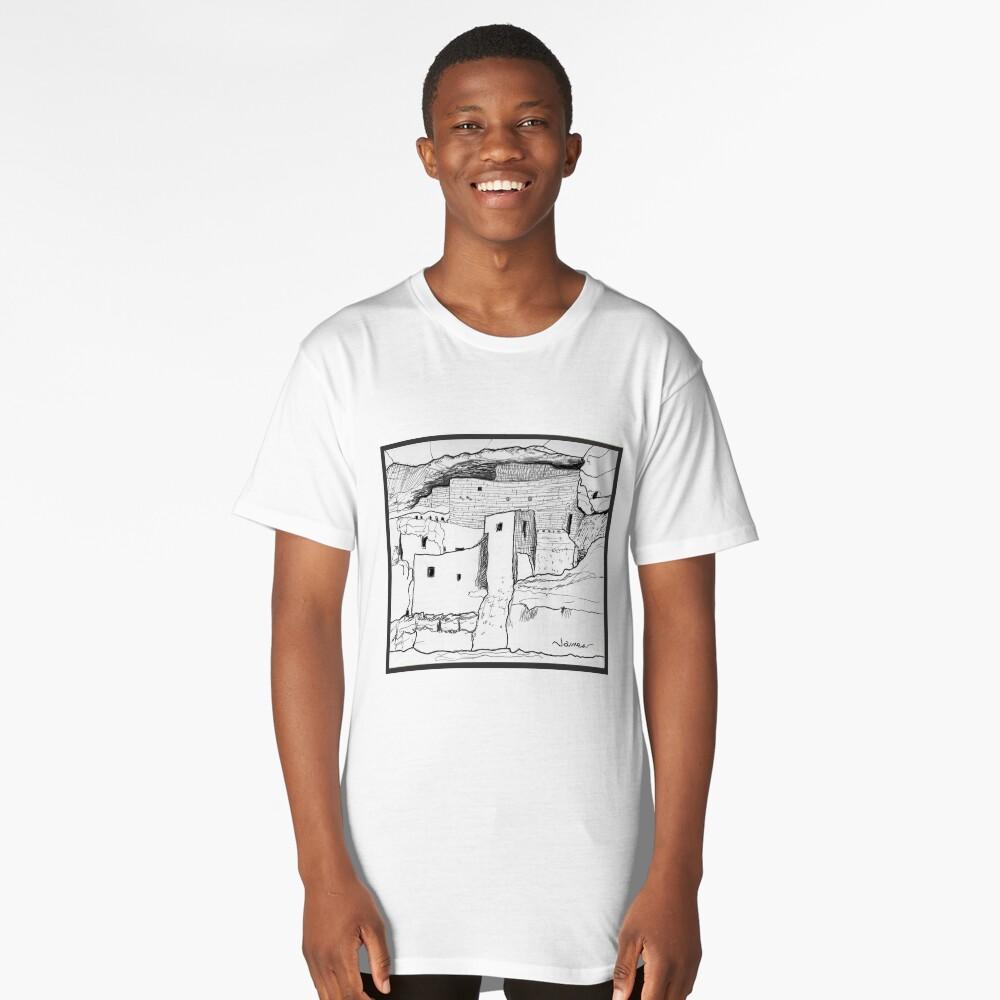 Arizona cliff dwelling Long T-Shirt Front