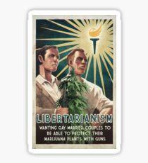 Libertarianism Sticker