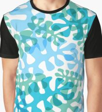 Swimming Coral Graphic T-Shirt