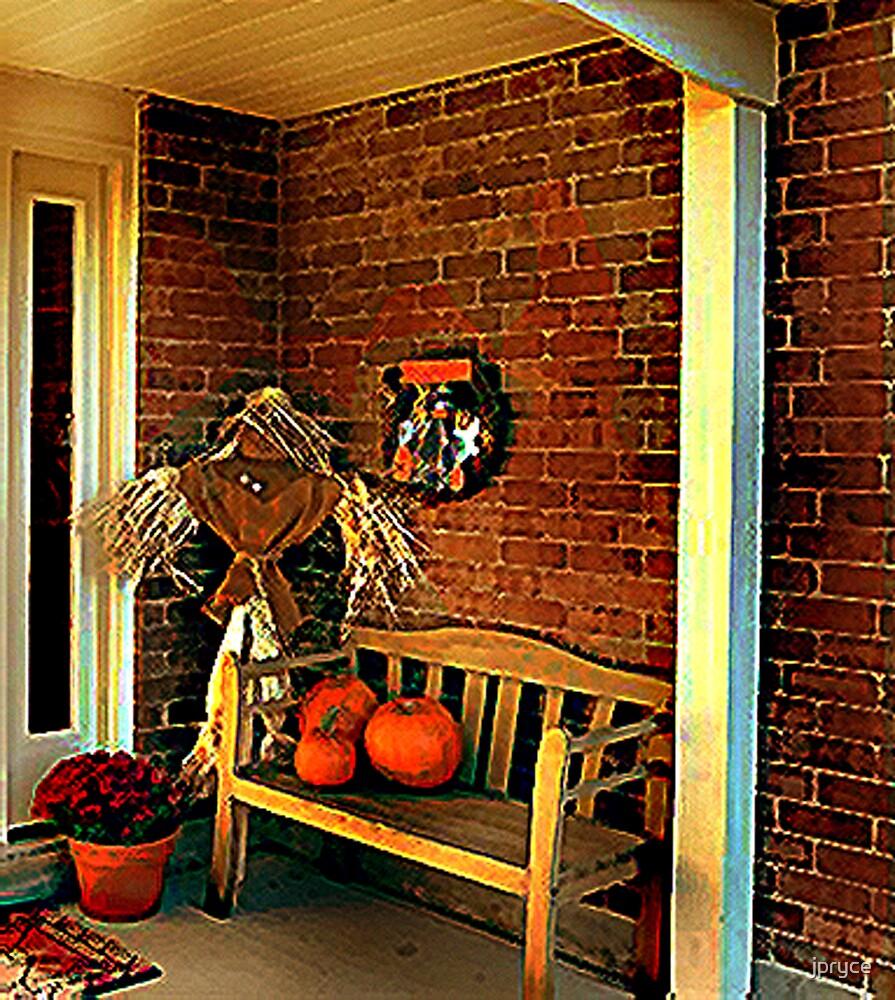 Fall Porch by jpryce