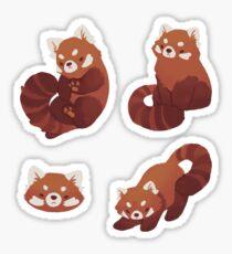 Red Pandas Sticker