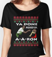 Key Peele - Ugly Sweater Christmas Women's Relaxed Fit T-Shirt
