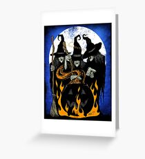 Cauldron Crones Greeting Card