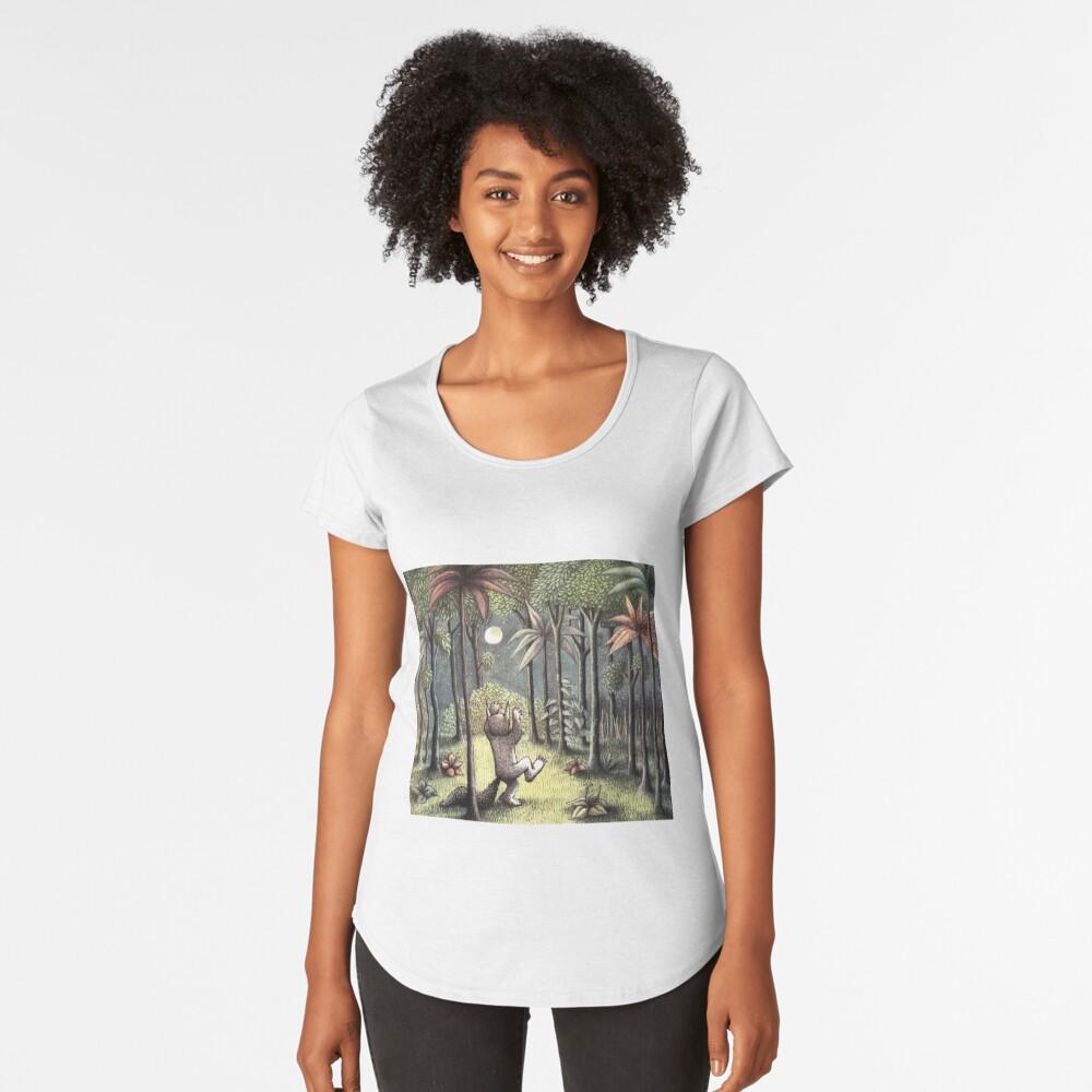 Wo die wilden Dinge sind Premium Rundhals-Shirt