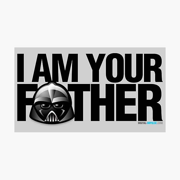 SW - I am your father Photographic Print