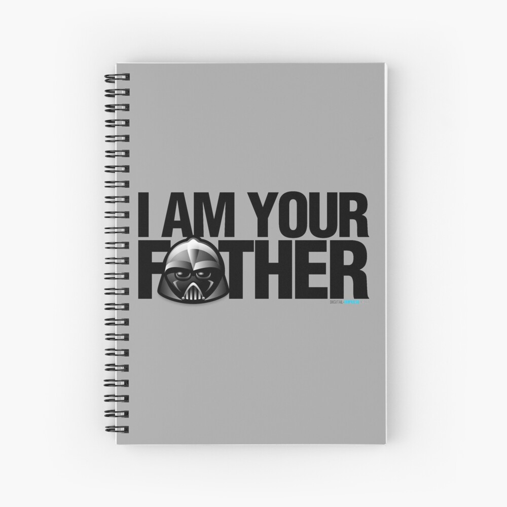 SW - I am your father Spiral Notebook