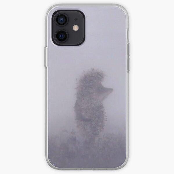 Hedgehog in the fog iPhone Soft Case