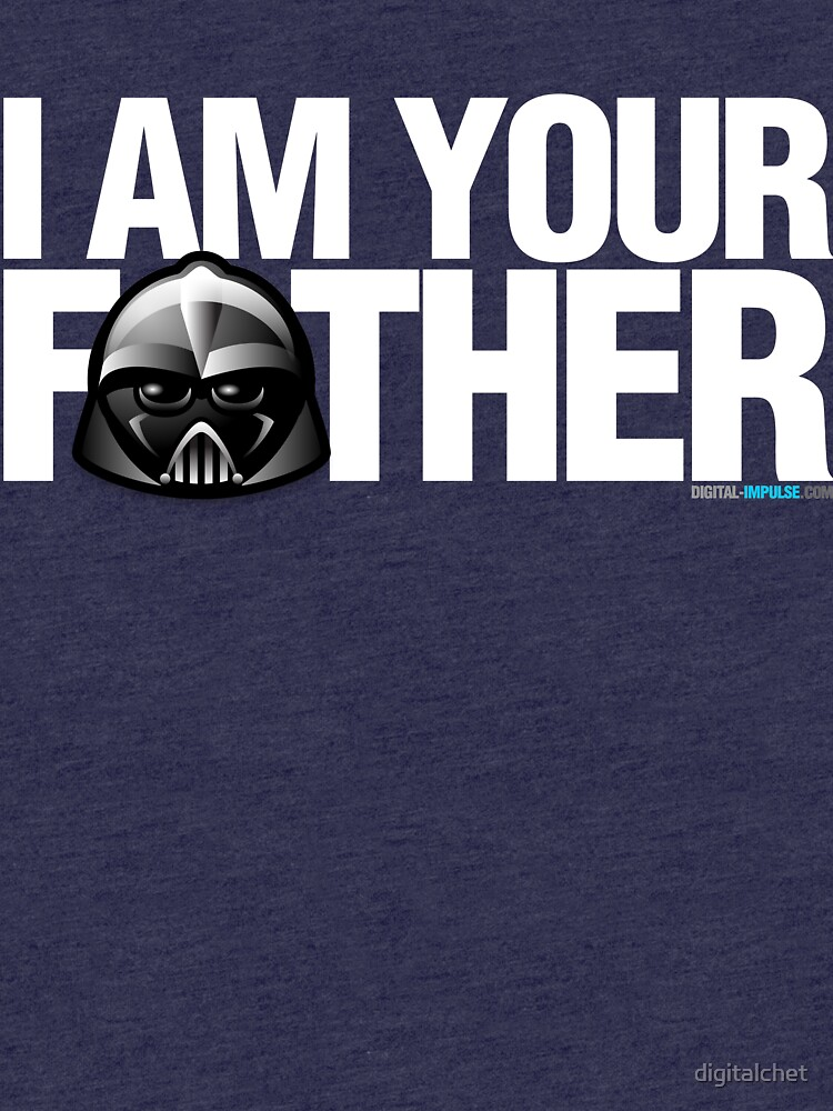 SW - I am your father - Dark Version by digitalchet