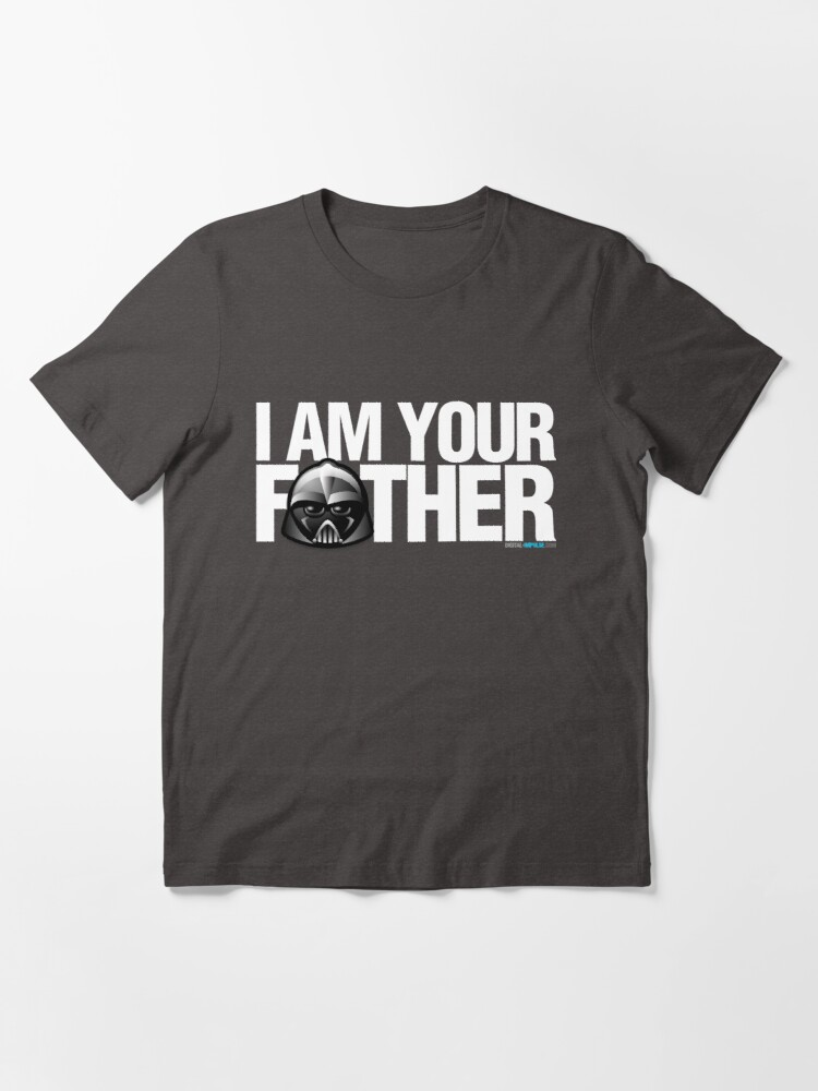 Alternate view of SW - I am your father - Dark Version Essential T-Shirt
