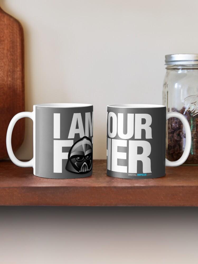 Alternate view of SW - I am your father - Dark Version Mug
