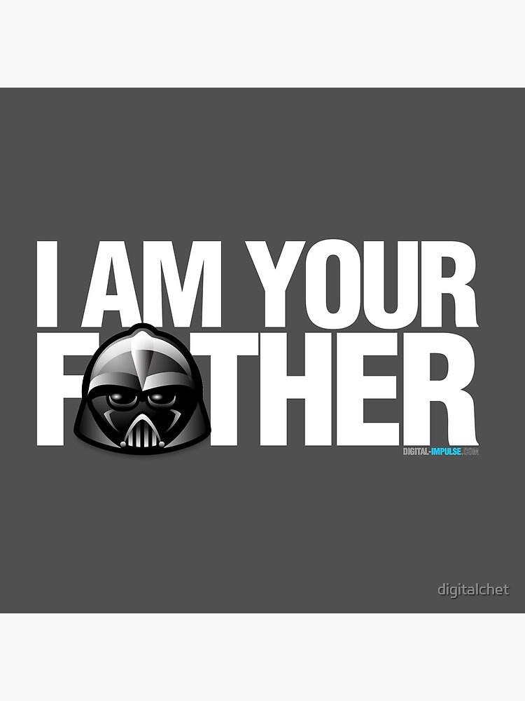 SW - I am your father - Dark Version by digitalchet