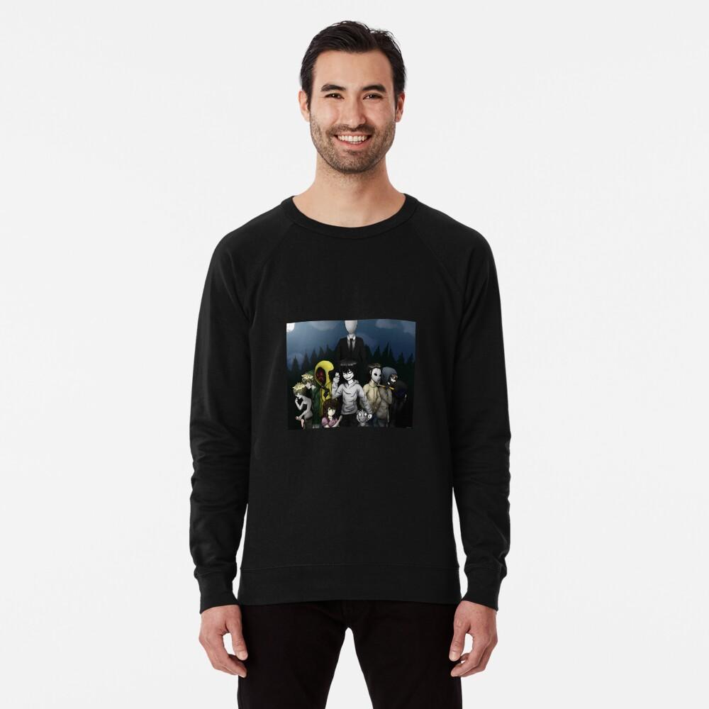 Creepypasta Lightweight Sweatshirt
