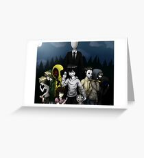Creepypasta Greeting Card