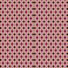 Criss Cross Offset Checkerboard by Scott Mitchell