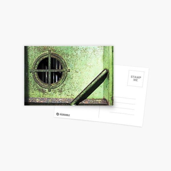 Green Door Postcard