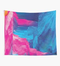 Intuition - Glitch Art Wall Tapestry