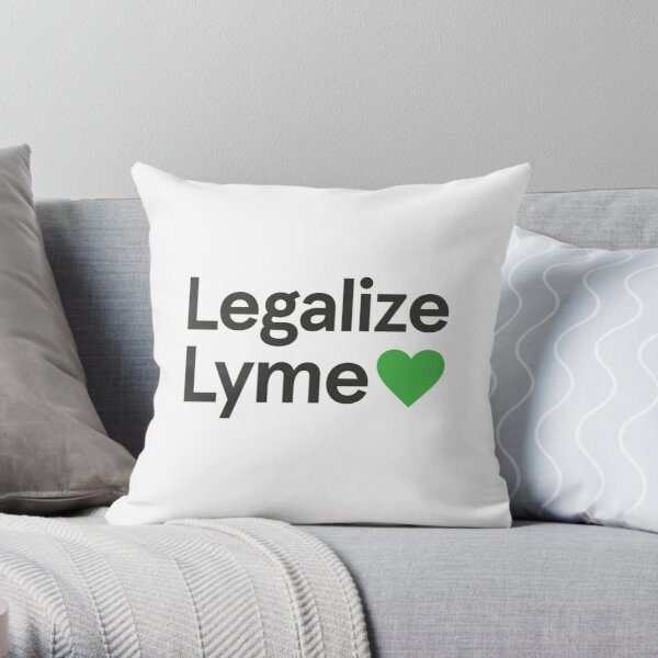 Legalize Lyme 2017 Throw Pillow