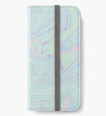 Iridescent Luminescent - Psychedelic Art iPhone Wallet/Case/Skin
